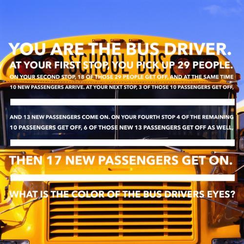 Bus Riddles