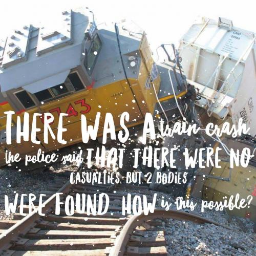 There was a train crash. The police said that there were no casualties, but 2 bodies were found. How is this possible?