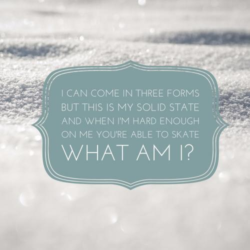Ice Riddles
