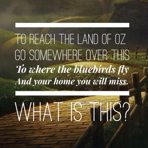 Wizard Of Oz Riddles