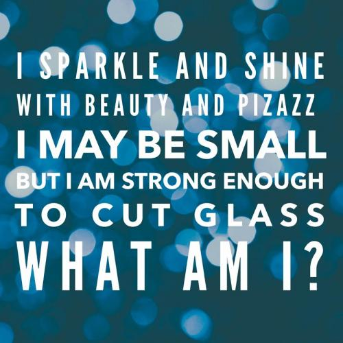 I sparkle and shine