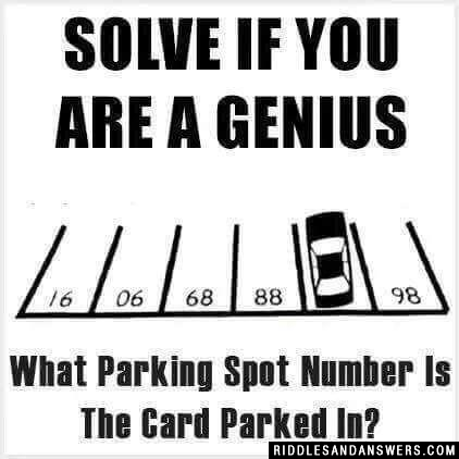 Solve if you are a genius
