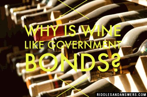 Why is wine like government bonds?