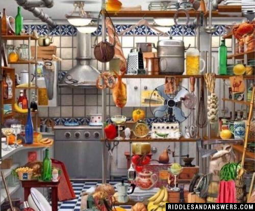 Can you find the hidden key in the picture above?