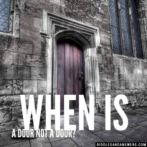 When is a door not a door?