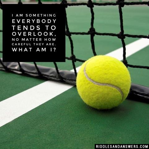 We're five little items of an everyday sort; you'll find us all in 'a tennis court'. What are we?