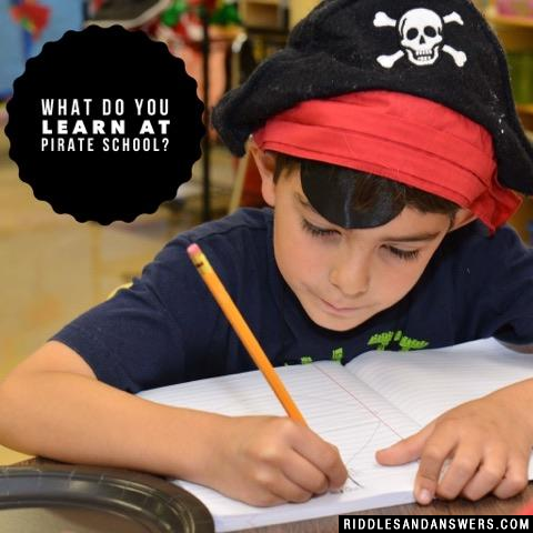 What do you learn at pirate school?