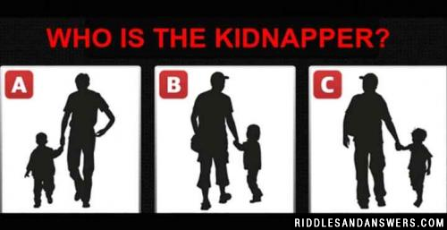 Can you identify who is the Kidnapper?