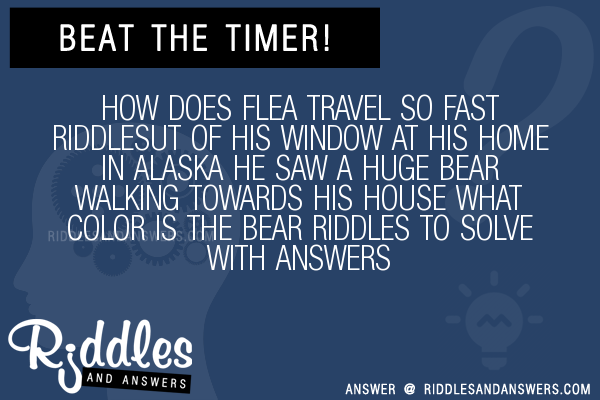 How Does A Flea Travel So Fast