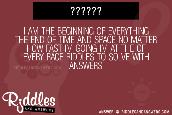 riddles about time and space relationship