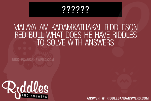 30+ Malayalam Kadamkathakal On Red Bull What Does He Have