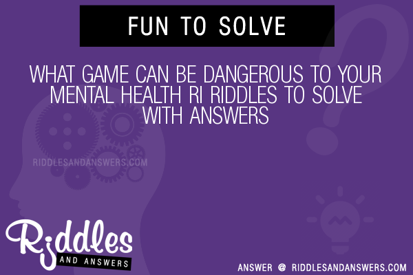 30+ What Game Can Be Dangerous To Your Mental Health Ri